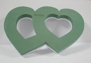Flora lyukas dupla szív