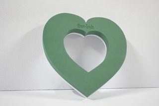 25cm-es lyukas szív styrodur alappal